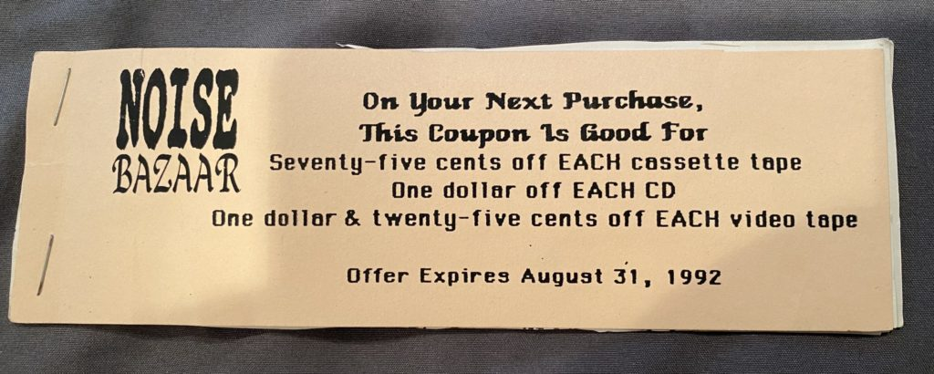 Noise Bazaar coupon
